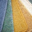 Stock Photo: Samples of carpet