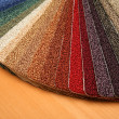 Samples of carpet — Stock Photo #1214614