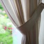 Elegant curtain — Stock Photo