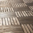 Floor from wooden boards — Stock Photo
