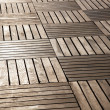 Stock Photo: Floor from wooden boards