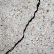 Crack on a wall — Stock Photo #1261190