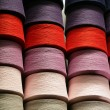 Royalty-Free Stock Photo: Bobbins with the coloured threads