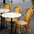 Street cafe in Paris — Stock Photo