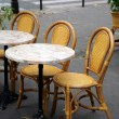 Street cafe in Paris - Stock Photo