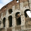 Old walls of Coliseum — Stock Photo