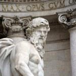 Fountain di Trevi, Rome — Stock Photo