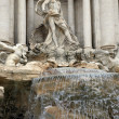 Fontaine de trevi, rome — Photo