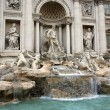 Fountain di Trevi, Rome — Stock Photo