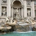 Brunnen di Trevi, Rom — Stockfoto
