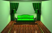 Green room — Stock Photo
