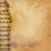 Musical background for desing — Stock Photo