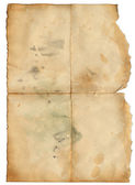 Grunge old paper with spot for desing — Stock Photo