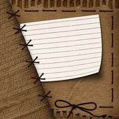 Old cardboard background for design — Stock Photo