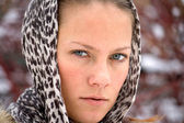 Headscarf, — Stock Photo