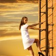 Fire-escape - Stock Photo