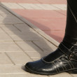 Black high boot — Stock Photo #1205887