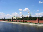 The embankment of the Kremlin — 图库照片