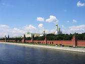 堤岸的克里姆林宫 — 图库照片