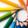 color pencil — Stock Photo
