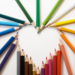 Color pencils — Stockfoto #2190495