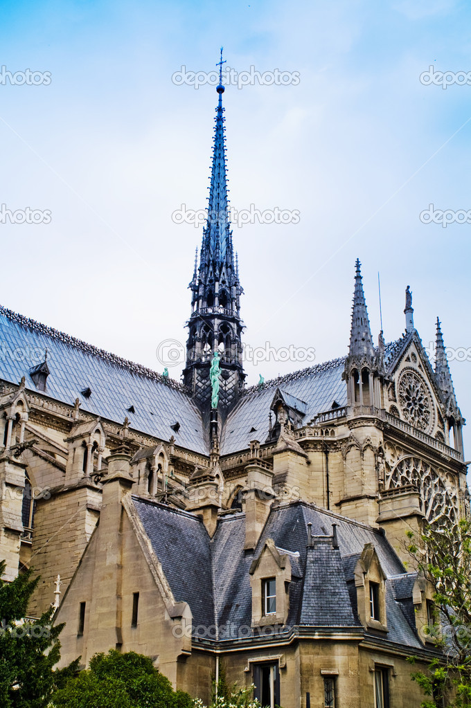 Notre Dame De Paris, France — Stock Photo #2648803