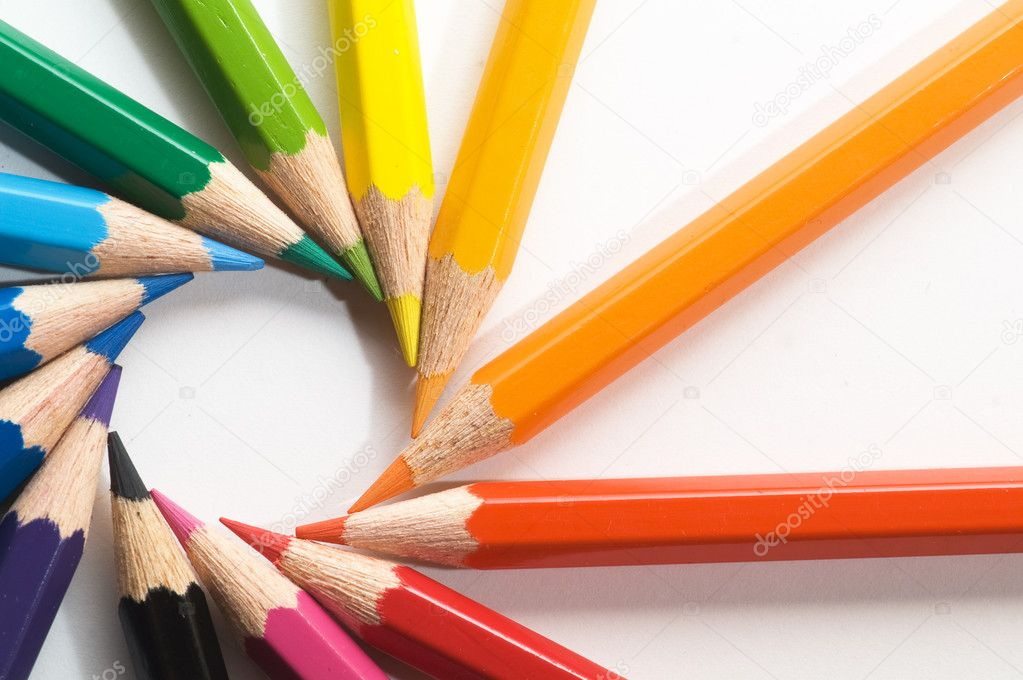 Color pencils — Stock Photo #2652391