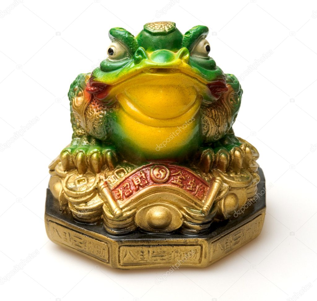 Ceramic money box, china symbol of rich — Stock fotografie #2654456
