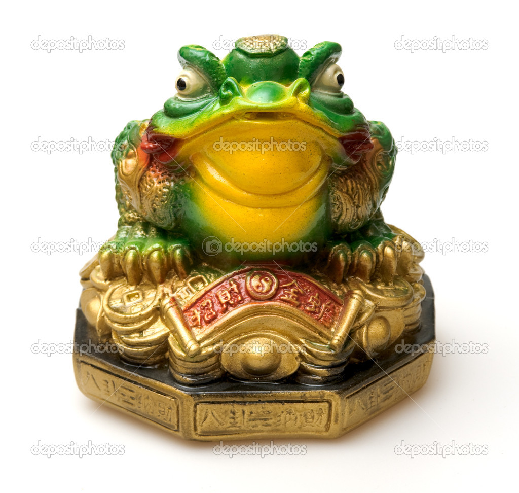 Ceramic money box, china symbol of rich — Photo #2654456