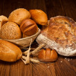 Stock Photo: Assortment of baked bread