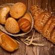 Assortment of baked bread — Stock Photo #1336363