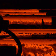 Stock Photo: Steel factory