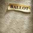 Headline ballot - 