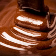 Liquid chocolate - Foto de Stock