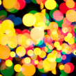 Royalty-Free Stock Photo: Christmas lights, abstract background