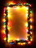 Christmas lights, abstract background — Stock Photo