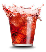 Red beverage — Stock Photo