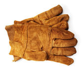 Leather work gloves — Stock Photo