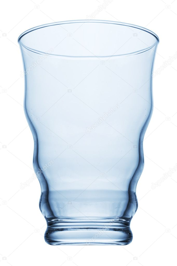 Empty glass isolated on a white background  — Stock Photo #1336960