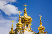 Petrodvorets Church — Stock Photo