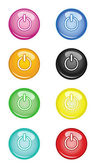 Switch off Buttons — Stock Vector