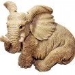 Statuette elephant — Stock Photo