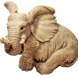Stock Photo: Statuette elephant