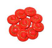 Red multi button — Stock Photo