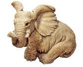 Statuette elephant — Stock Photo