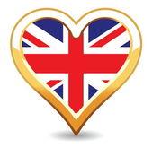 Hear Britain Flag — Stock Vector