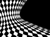 Abstrato preto e branco — Vetor de Stock