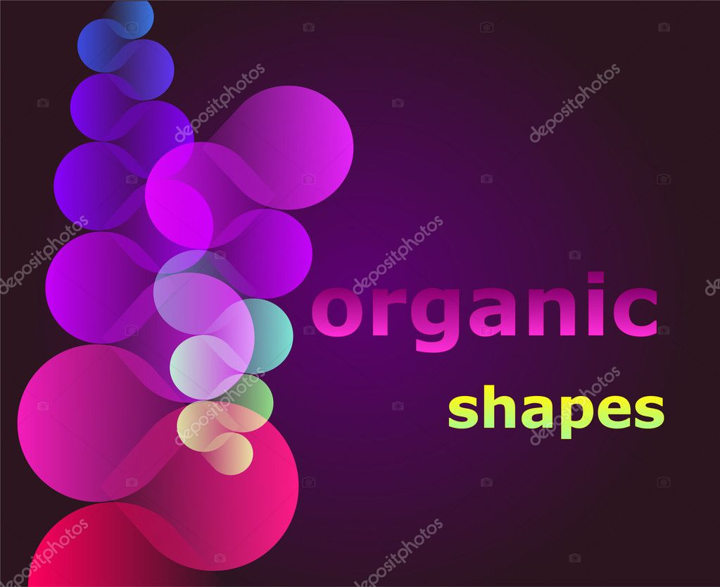 Organic Shapes Stock Vector Artlosk 1253631