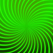 Twirl Green Abstract — Image vectorielle
