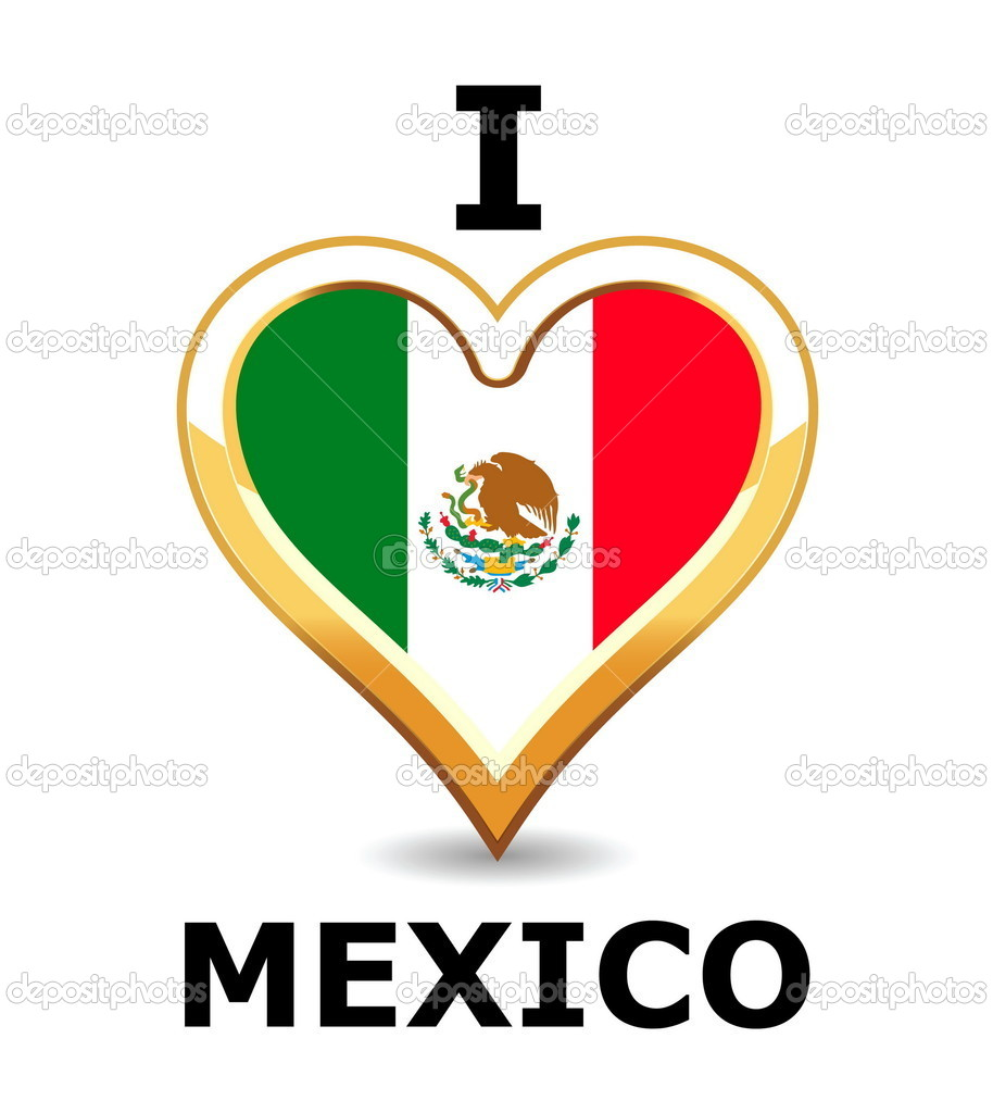 Love mexico stock vector 169 artlosk 1265357